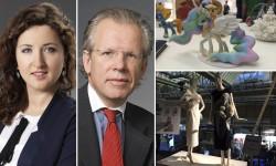 Anna Rzewuska och Thomas Lindqvist på Advokatfirman Hammarskiöld & Co.