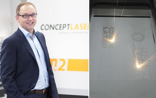 Concept Lasers vd, Frank Herzog.