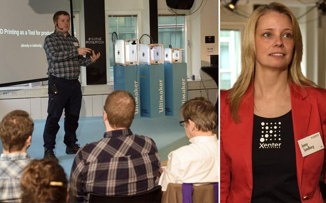 Xxxxxxxxx Xxxxxxxxxx, Xxxxxxxxx, och  Jenny Sundborg, utbildningsledare på Xenter Yrkeshögskola.