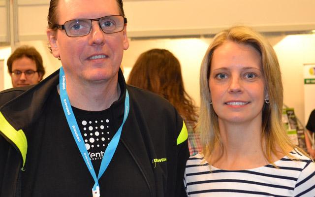 Jan Sätherlund och Jenny Sundborn, Xenter.