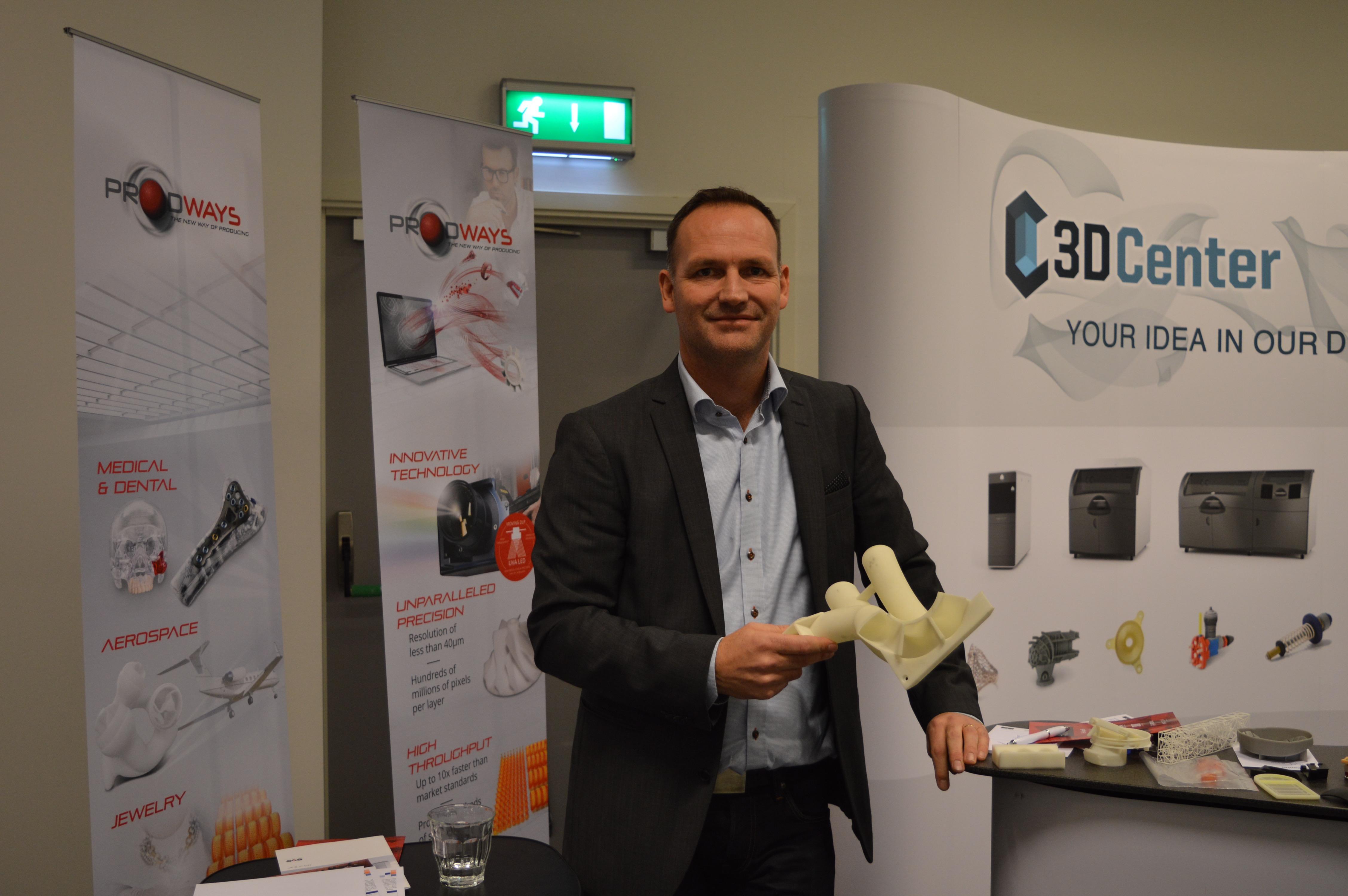 Casper Rosén, delägare, 3D Center.