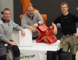 Johan Åkerman, Jan Johansson och Lenny Tönnäng är några av de som arbetat med Swereas extruderlösning för plastproduktion.