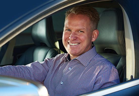 Mikael Sohlberg, marknadschef på GTP.