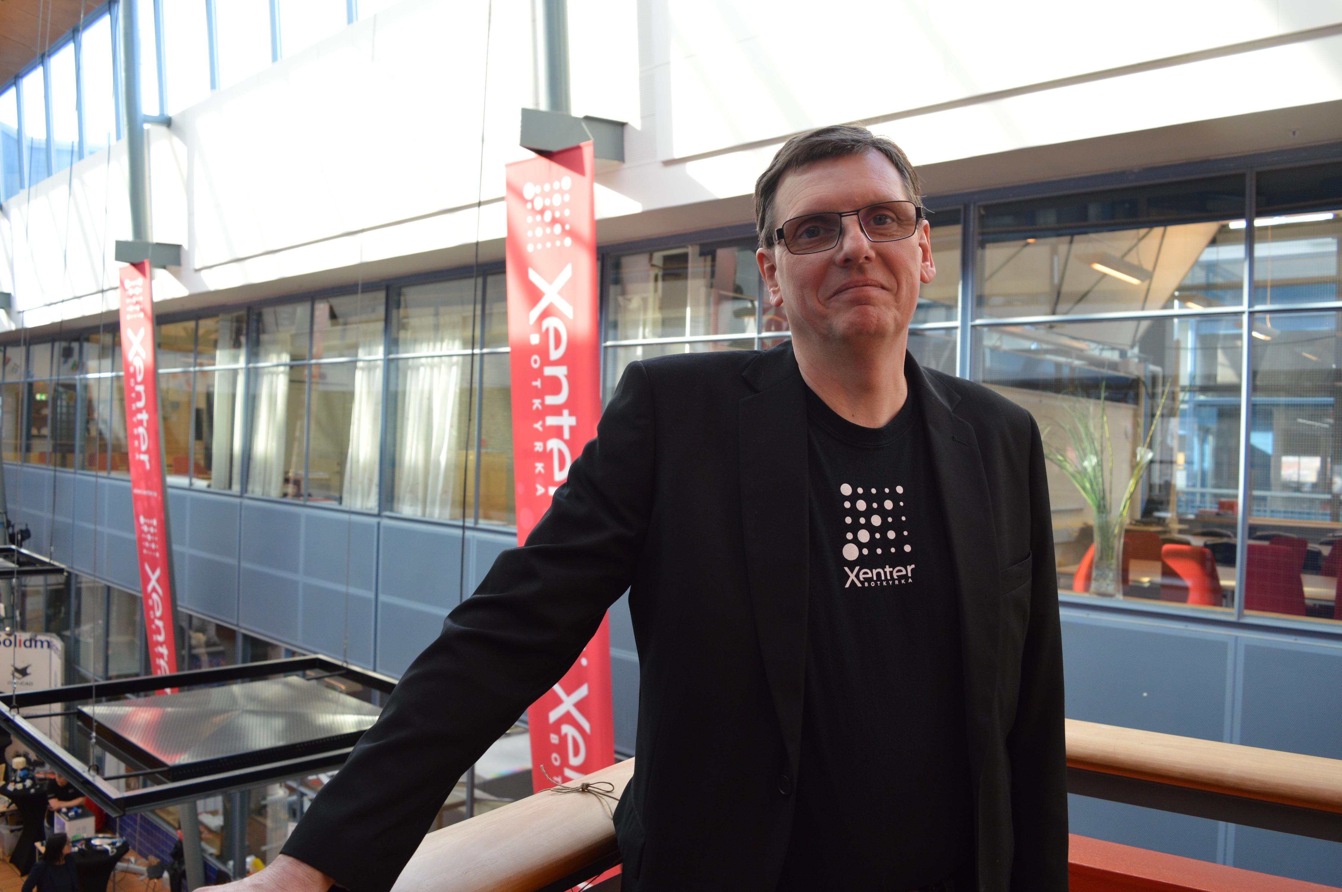 Jan Sätherlund, utbildningsledare på Xenter i Tumba.
