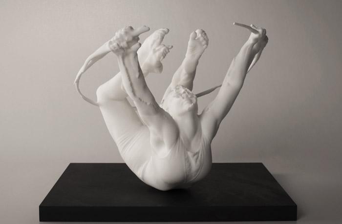 3d-utskriven skulptur av Tove Kjellmark.