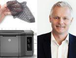 Stefan Bergdahl, HP:s Sverigechef, börjar i höst att leta efter svenska återförsäljare för HP:s 3d-skrivare.