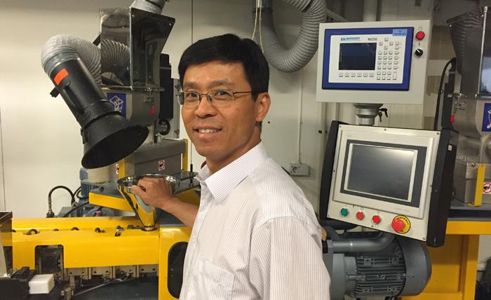 Li Yang, projektledare för nya AMPOFORM-projektet hos Innventia.