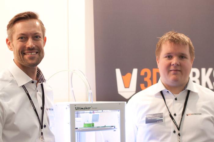 Daniel Ljungstig och Eric Cederberg, 3DVerkstan.