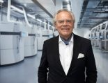 EOS grundare och företagets stora visionär, Hans Langer.