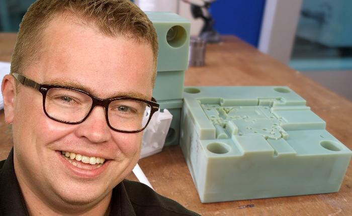 – Schneider är ett tydligt exempel på var additiv tillverkning är på väg. Det menar Simon Brandon på Stratasys, som hjälpt industrijätten att komma igång med sin satsning.