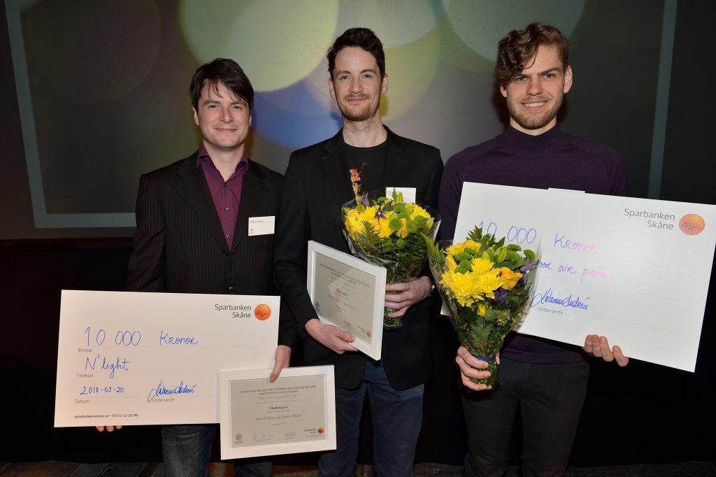 Vinnare Lunds universitet framtidens innovationer