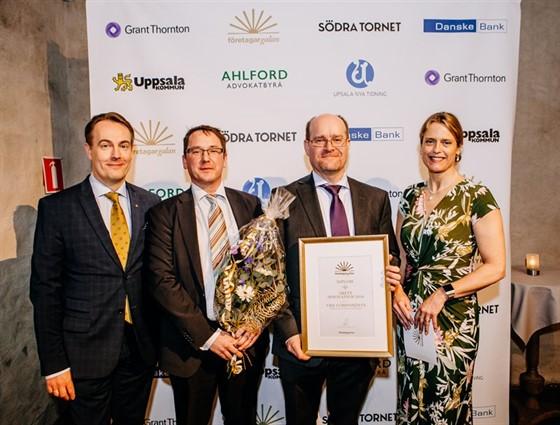 VBN Components, vinnare av Årets Innovation 2018, Företagargalan Uppsala.