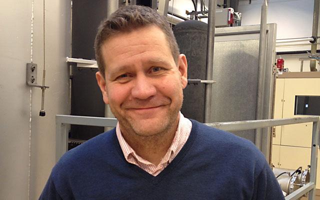 Mikael Schuisky på Sandvik.