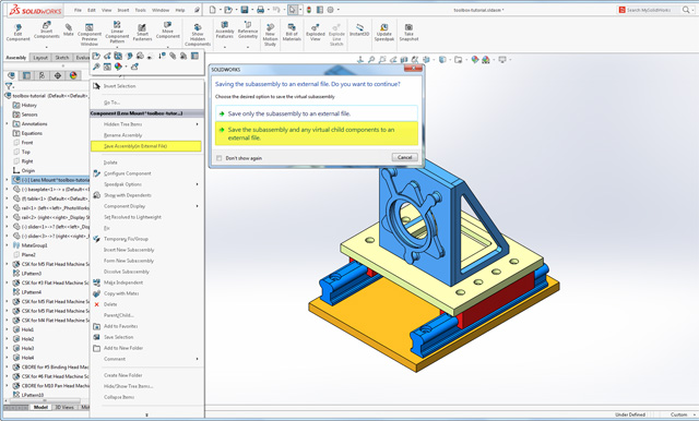 solidworks 2018 save as 3d pdf
