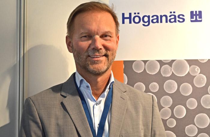 Ralf Carlström, chef för Höganäs Digital Metal.