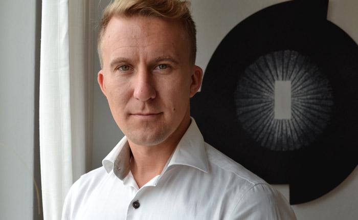 Teddy Larsson på nystartade Scan 3D Innovations.