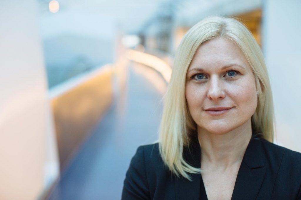Ylva Ekborn, vd för Postnord Strålfors Group.