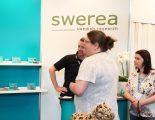 Swereas monter under Elmiamässan i Jönköping där de visade upp olika material för 3d-utskrifter.