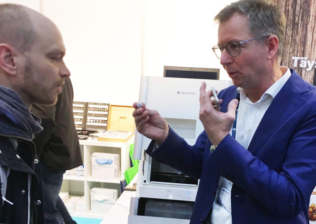 Claus Larsen Roland DG fräsmaskin 3d-printing