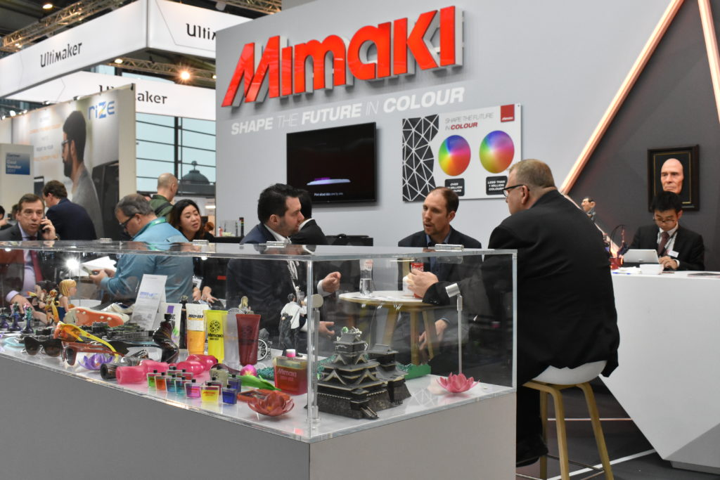 Mimaki monter under Formnext 2018