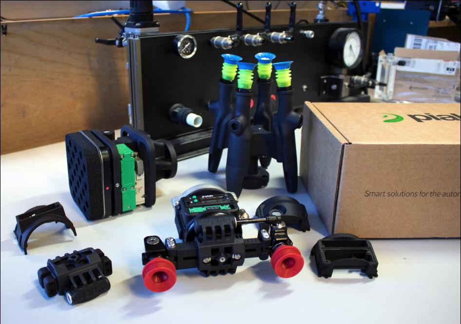 Företagets vision är att bli den globala ledaren inom robotiserade grip- och förflyttningslösningar.