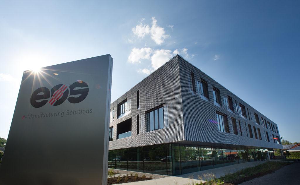 EOS kund- och teknikcenter i Krailling, Tyskland.