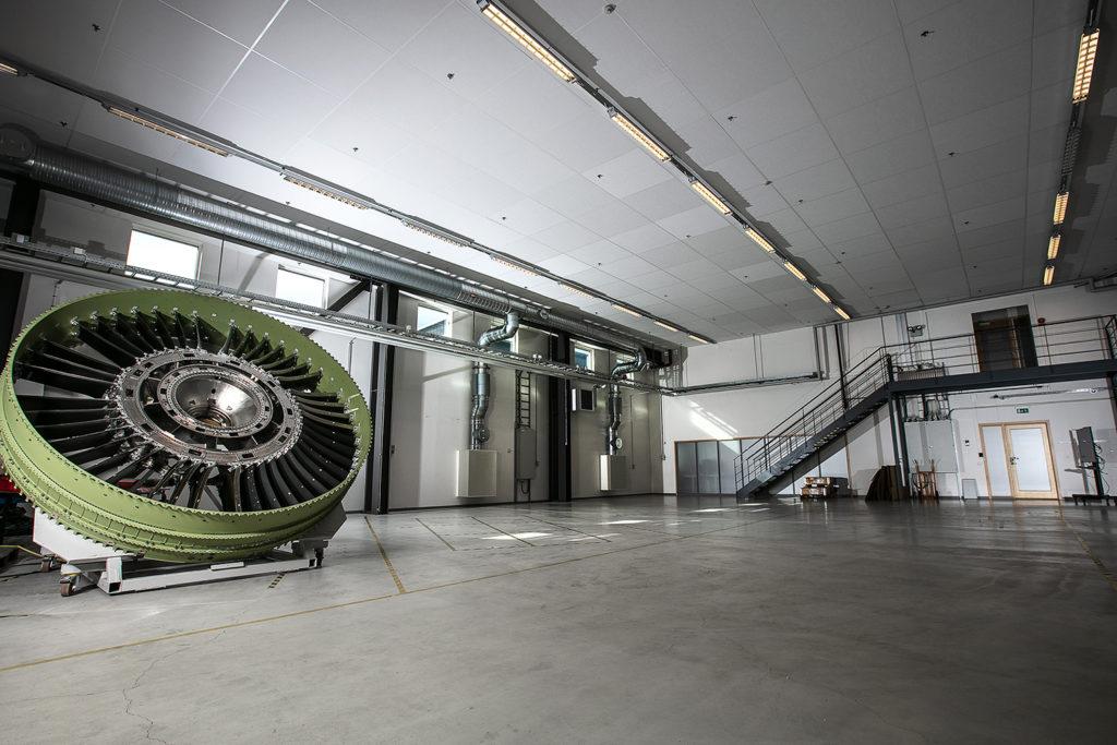 Hallen som Framtidens fabrik numera kommer bestå av, ligger på Innovatumområdet i Trollhättan. Foto: Andreas Olsson/Innovatum