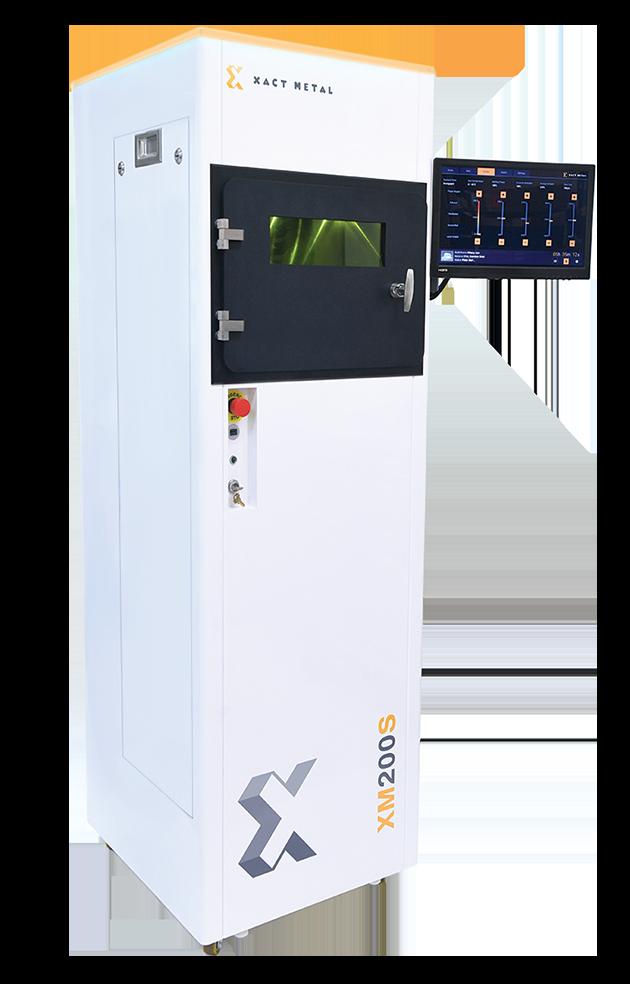En av Xact Metals 3d-skrivare, XM200S, som Protech börjar leverera till hösten 2019.