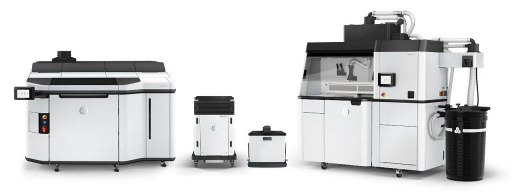 HP:s nya 3d-skrivarsystem för industrin. Foto via HP