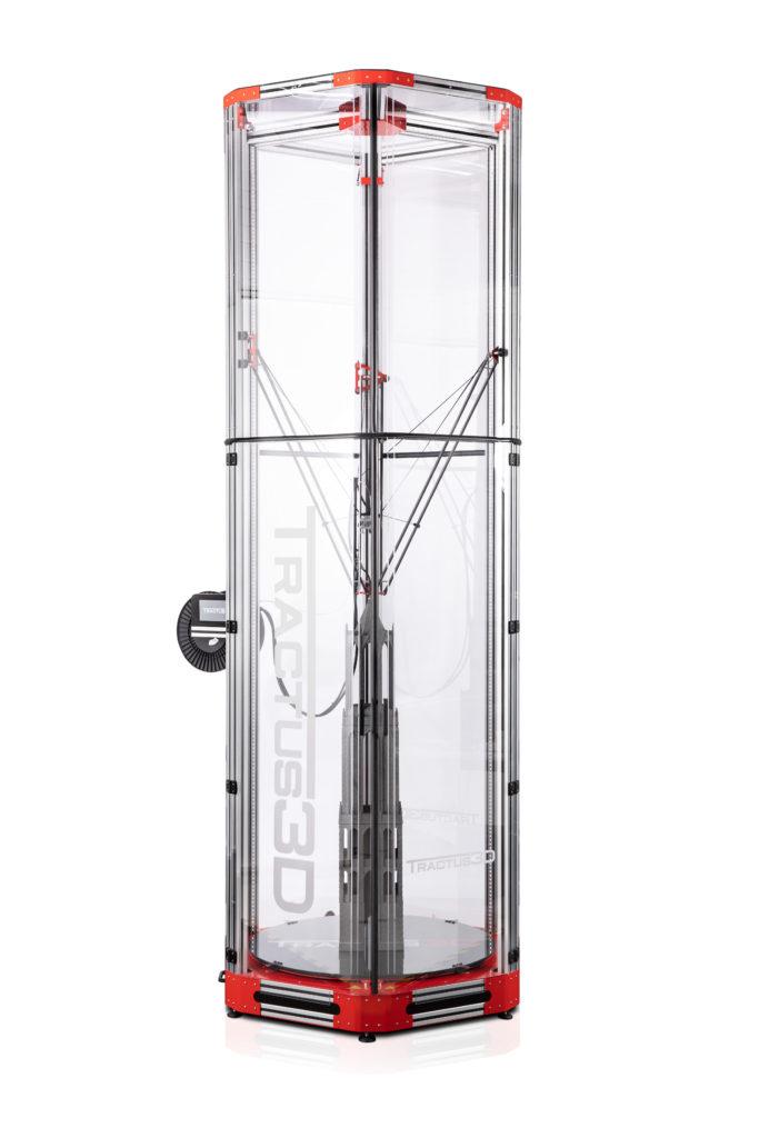 Large Volume-serien skriver ut i storformat upp till två meter.