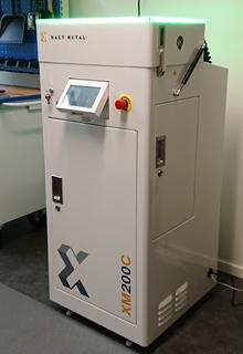 Den nya Xact Metal-skrivaren i modellen XM200C har fått ta plats på Protechs kundcenter.