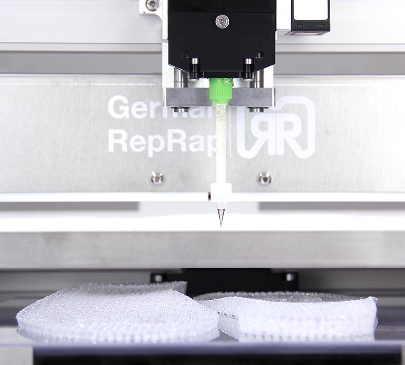 German Reprap:s nya modell, L280. Foto via German Reprap