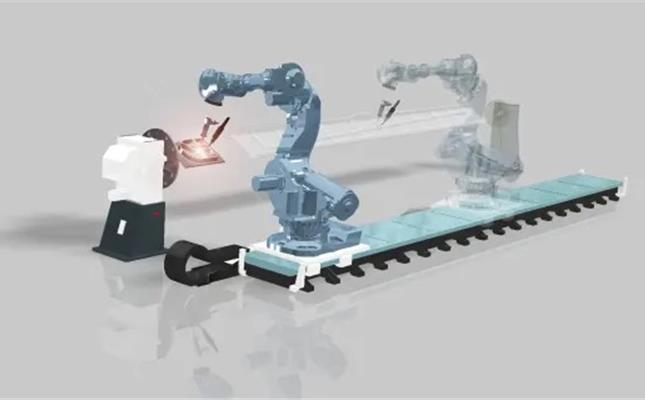 En 3d-skrivare baserad på en industrirobot och Procadas teknik.