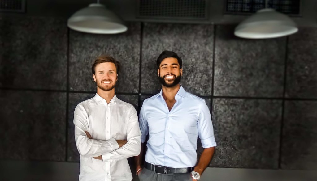 Ve and Vile startades av Benjamin Waye (till vänster) och Nick Nicksan och har växt från ett litet startup till att i dag bestå av ett team på tio personer.