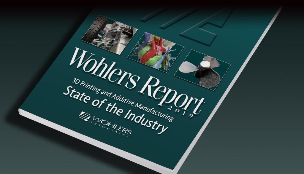 Rapporten ges ut årligen av Wohlers Associates.