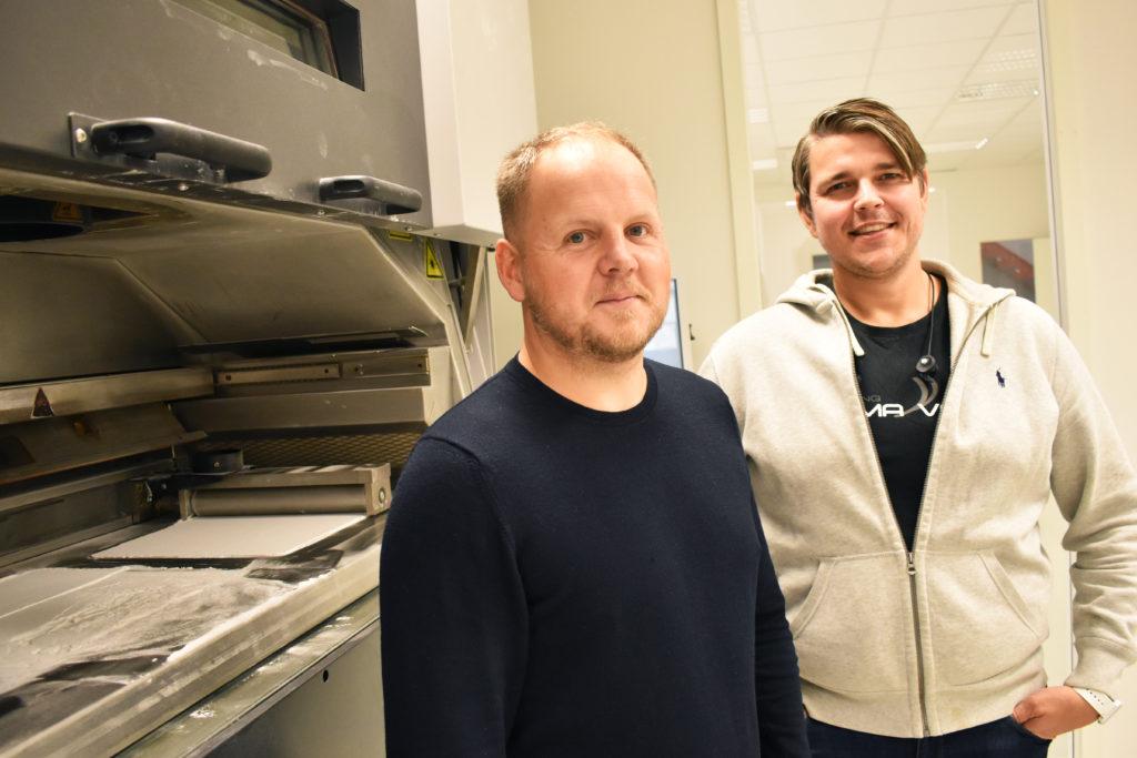 Claes Sjödahl och Samuel Löfstrand äger och driver servicebyrån Addema i Jönköping.