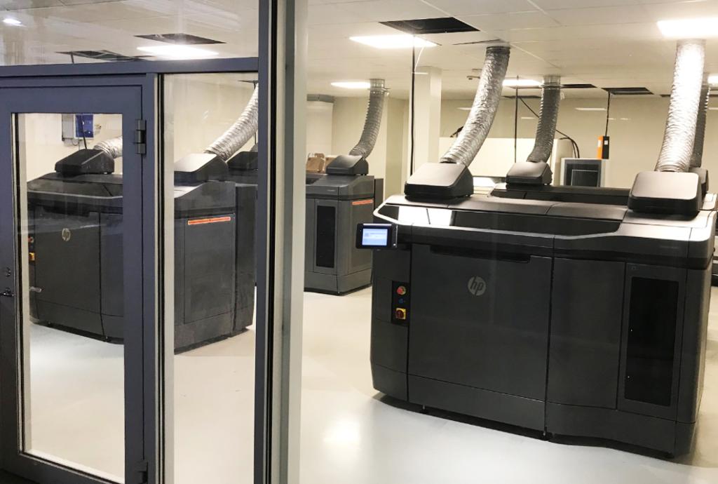 I Prototals maskinpark i Jönköping finns i dag fyra HP-skrivare som körs varje dag. Detta för att maximera möjligheterna att leverera komponenter snabbare menar marknadschef Jonas Sandwall.