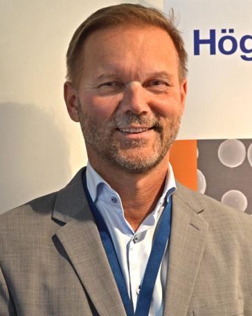 Ralf Carlström, vd på Höganäs Digital Metal.