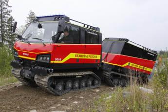 Något som tekniken skulle kunna användas till är bandvagnar. Tillverkaren av terrängfordon, BAE Systems Hägglunds, är en av partnerna i projektet.