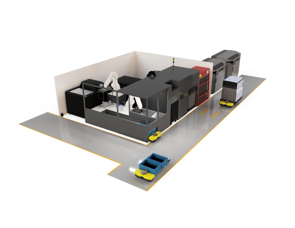 AMTs digitala produktionssystem. Foto via AMT