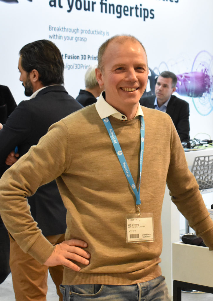 Ulf Qviberg, vd på 3D Center som är leverantör av HP:s 3d-skrivare.