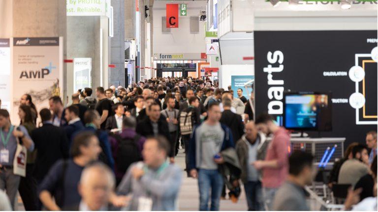 Formnext-mässan i Frankfurt är i full gång och i år har mässan växt med 250 utställare jämfört med föregående år.