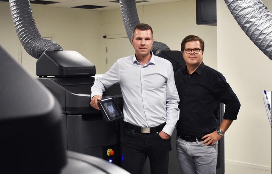 Henrik Lundell, vd, och Jonas Sandwall, marknadschef på Prototal.