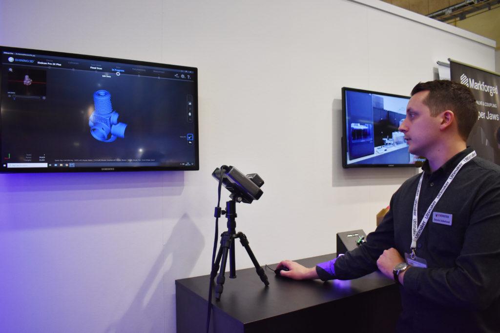 3DVerkstan har sedan tidigare Shining 3D:s scanner Einscan i produktportföljen.