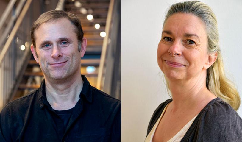 Magnus Engwall, professor i miljötoxikologi och Eva Särndahl, professor i medicin vid Örebro universitet. Foto: Linda Harradine
