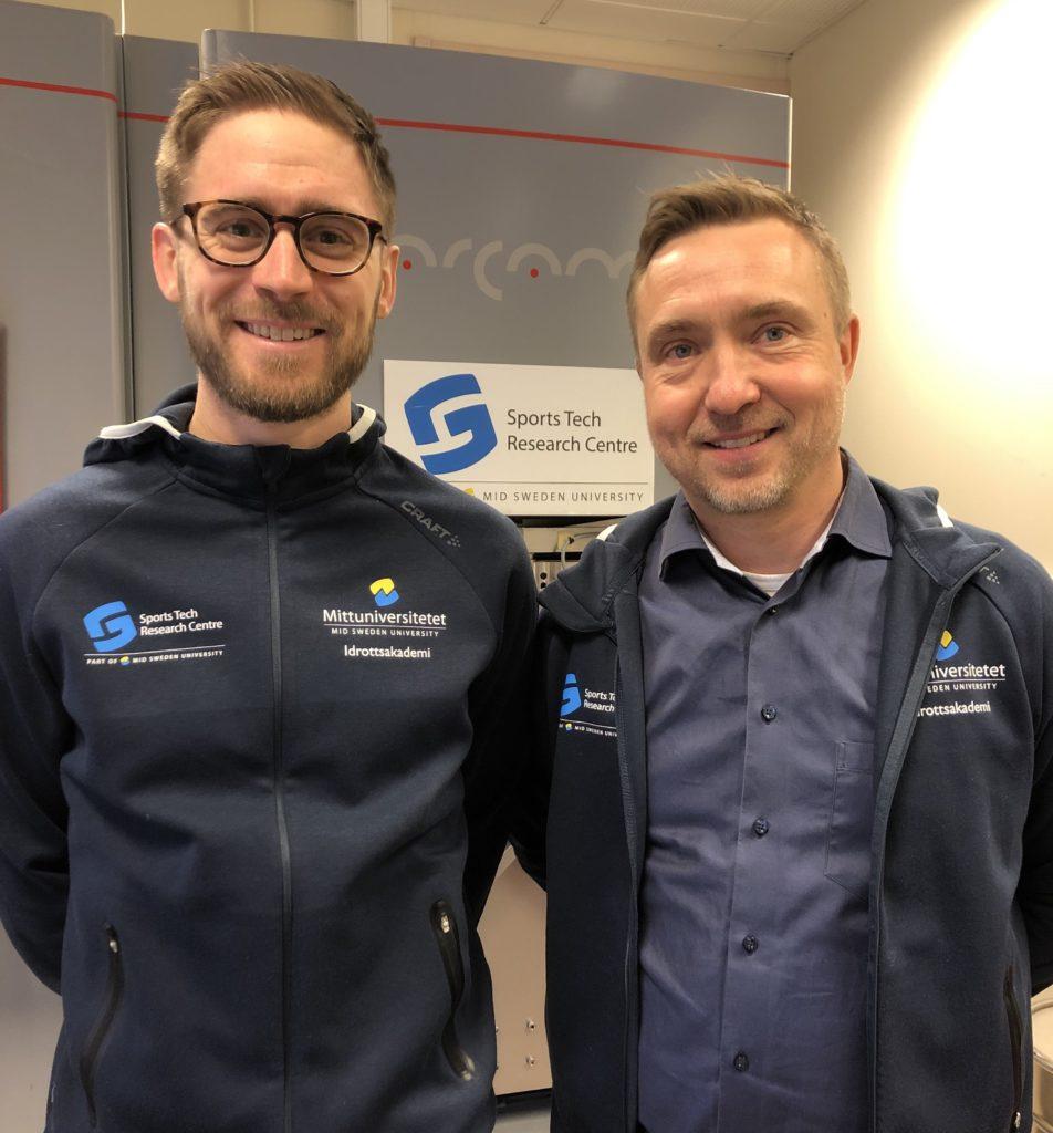 David Sundström och Lars-Erik Rännar.