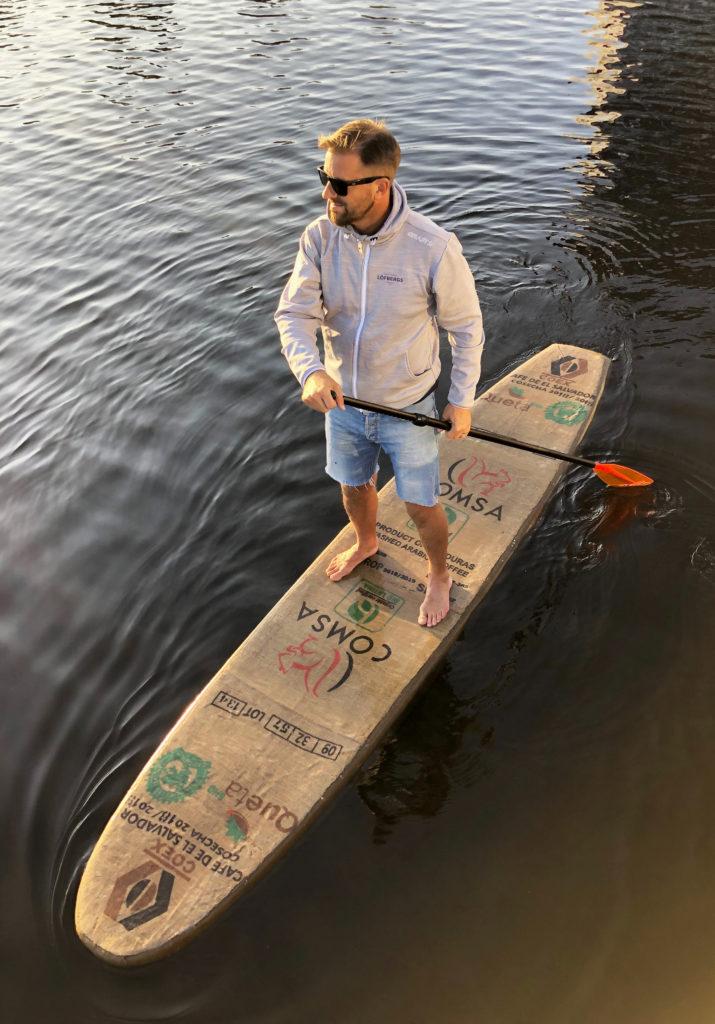 Melker of Sweden 3d-printar vattensportsprodukter av återvunnet material.