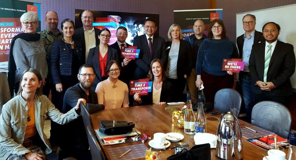 Den 19 februari arrangerades en presskonferens i Stockholm där flera aktörer delade med sig av ett smakprov inför Hannover-mässan i april.