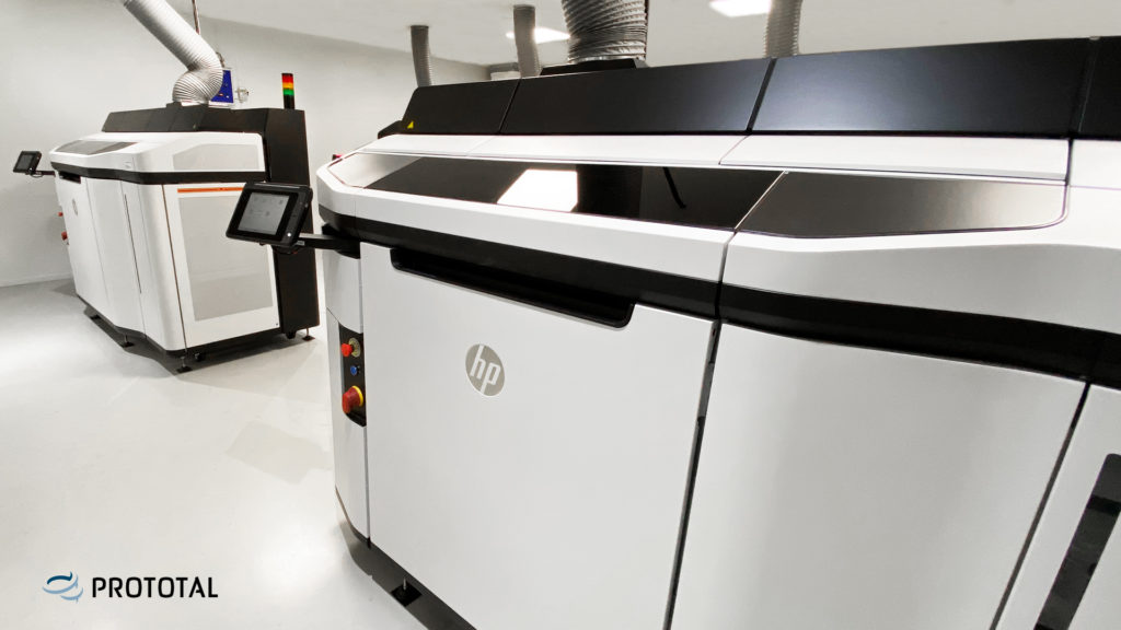 HP MJF 5210 är enligt Prototal en maskin med ökad värmestyrning och förbättrad dimensonsstabilitet.