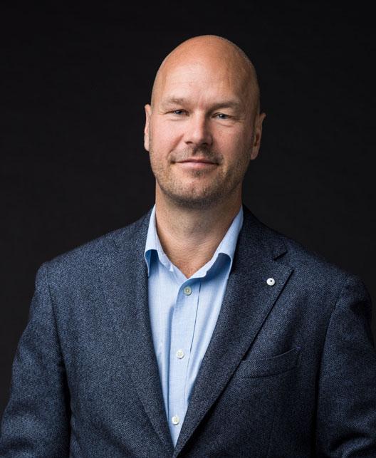 Stefan Ek, vd på BLB Industries.